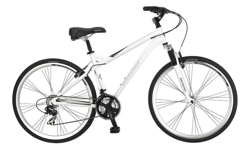 A Little About This Bike The Schwinn Network Hybrid Bike is with made with a pure Schwinn aluminum hybrid frame, which provides an excellent light weight performance, yet still being durable and strong enough to last a long time. If toughness is what you are looking for, the Schwinn Network will meet those demands. The […]