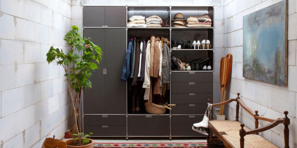 Design Möbel Aufbewahrung, Regalsystem, Schrank, Garderobe - designer moebel einrichtung modern