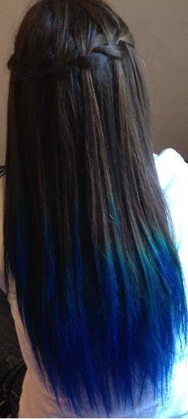 kool aid dye dark hair - Google Search … | Hair color ideas ...
