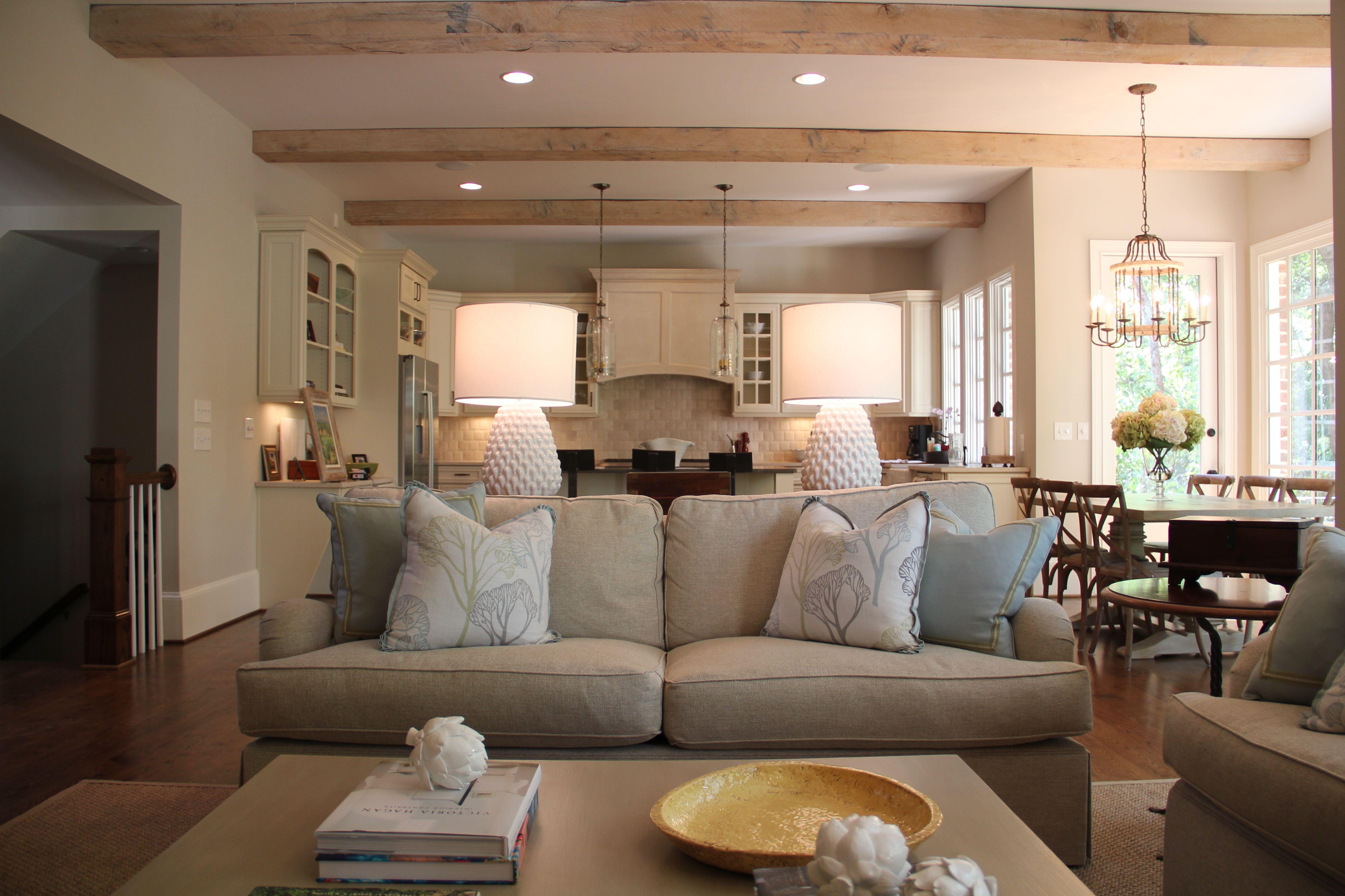 Family Room + Kitchen {Ansley Ghegan Interiors ~ Atlanta