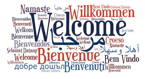 Welcome in all Languages