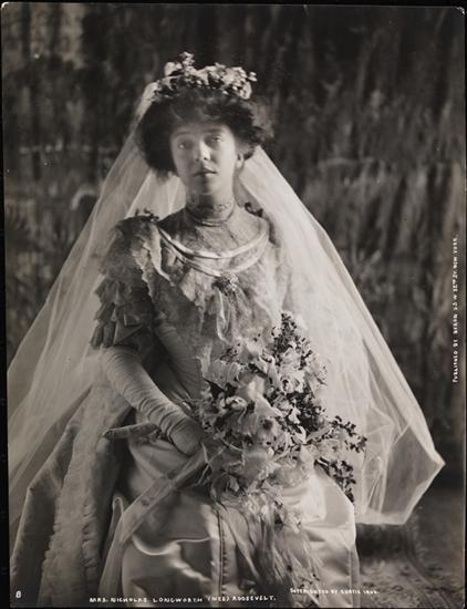 Weddings Roosevelt Alice Longworth Nicolas Date1906 Alice