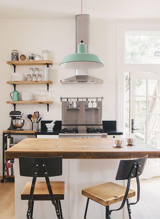 Como conseguir una cocina de estilo nordico industrial - Deco estilo nordico ...