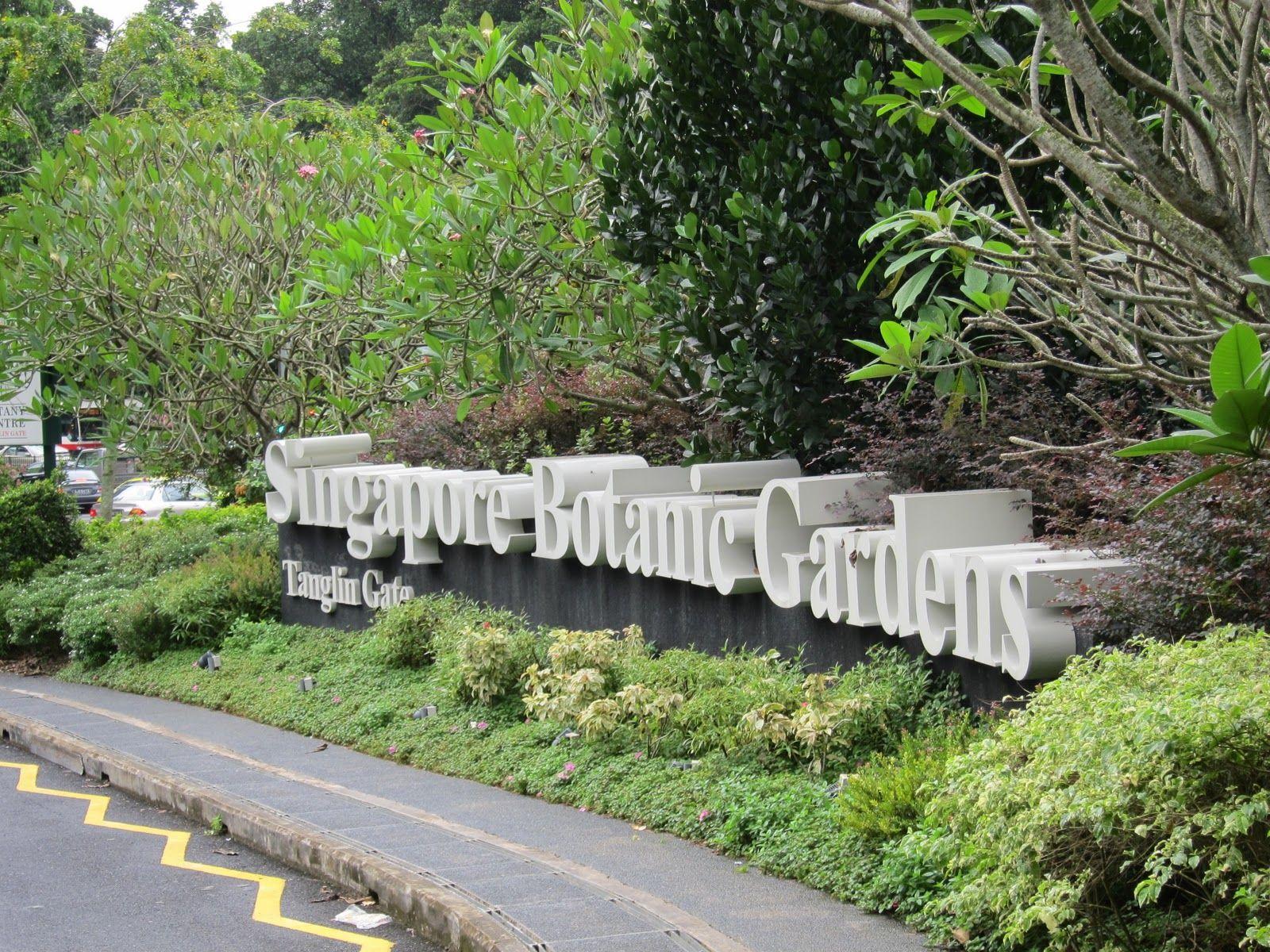 Singapore Botanic Gardens Vườn Bách Thảo ở Singapore