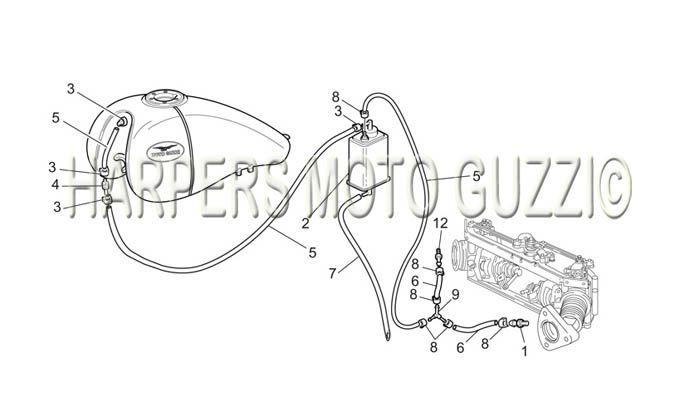 Parts Lookup :: 2000-2009 Moto Guzzi's :: California