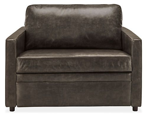 Marvelous Bedford Day Night Twin Sleeper Chair In Portofino Smoke Pabps2019 Chair Design Images Pabps2019Com