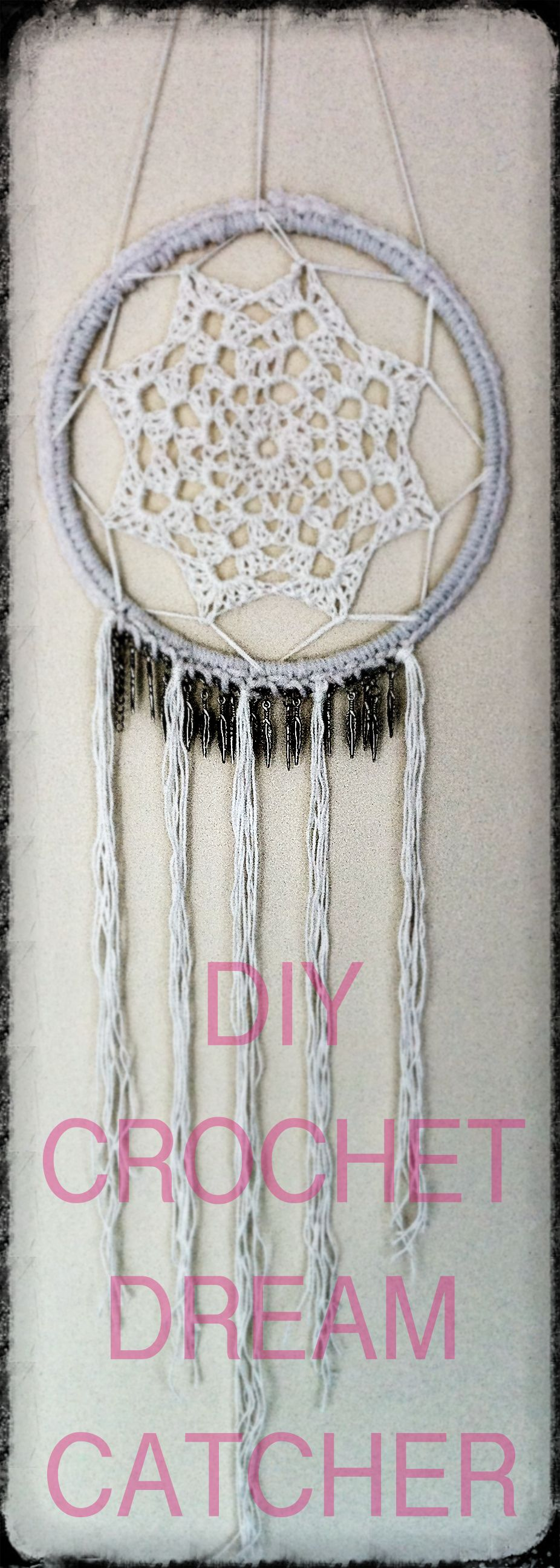 DIY Crochet Dreamcatcher