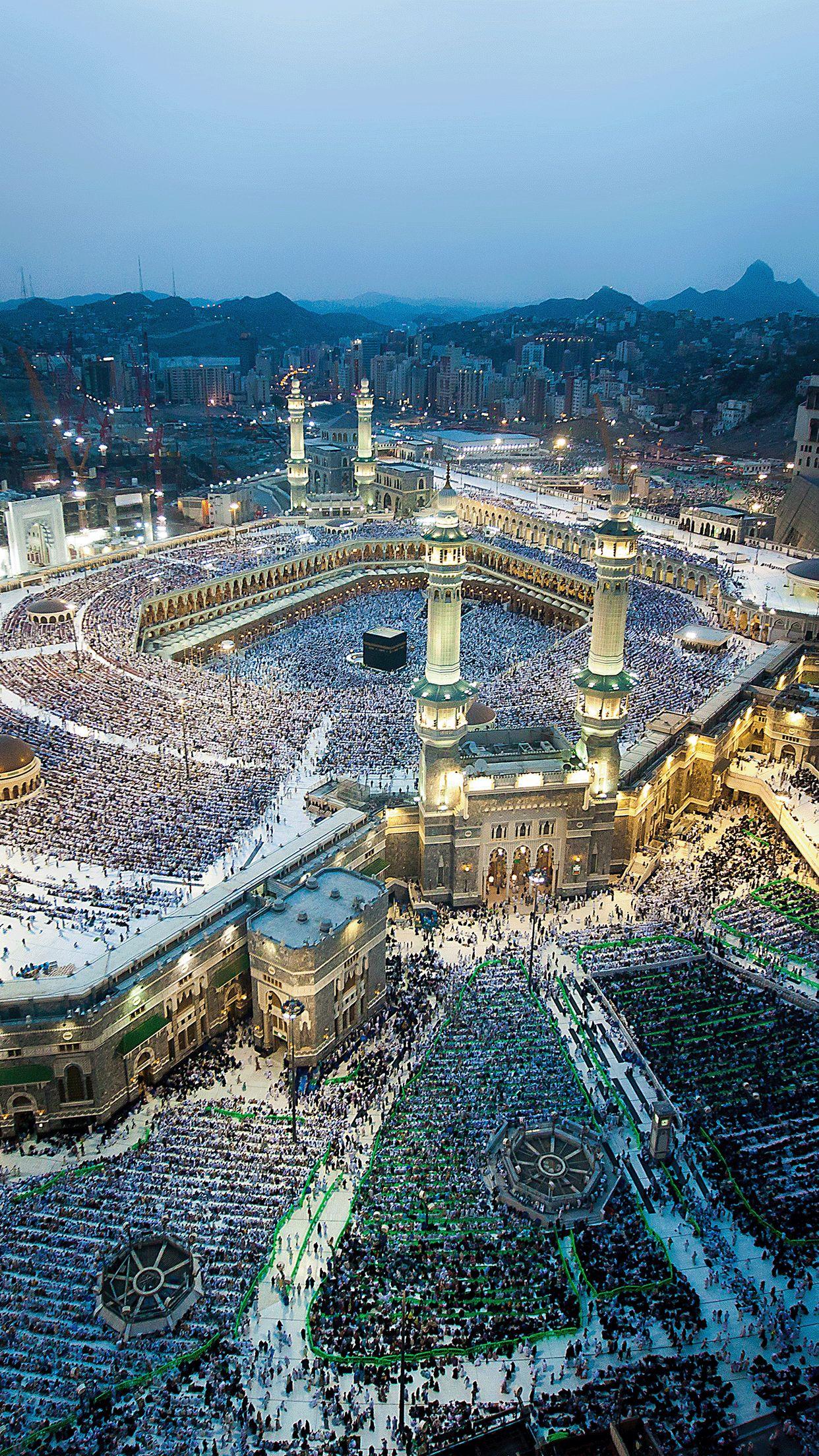 الحرم المكي Mecca Kaaba Mecca Wallpaper Islamic Pictures