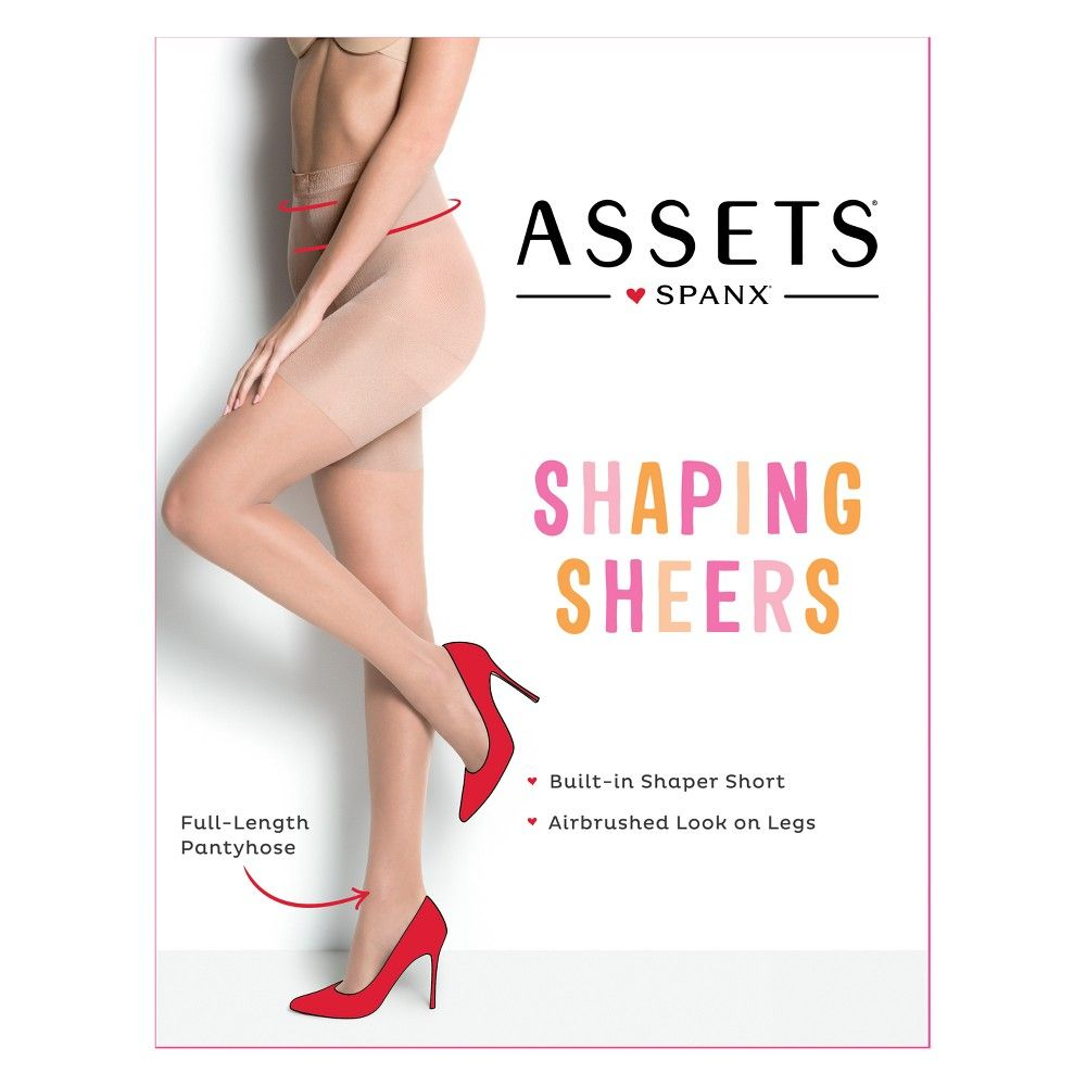 74704d907 Assets by Sara Blakely Women s Shaping Pantyhose