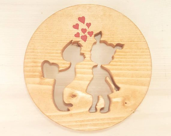 Valentine\'s Day Gift For Her. Unique Gift. Handmade Wall Decor ...