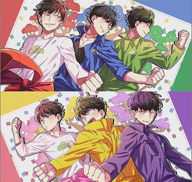 なにかとカッコいい6人兄弟 おそ松さんイラスト おそ松さん喧嘩松 おそ松さん ペア画