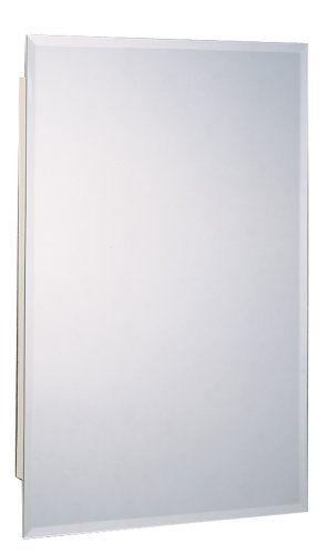 Zenith M1215 Beveled Swing Door Medicine Cabinet By Zenith 45 99 Surface Or Recess M Frameless Beveled Mirror Beveled Edge Mirror Bathroom Furniture Storage