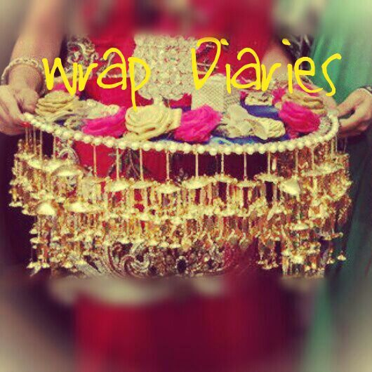 Wrap diaries info review wraps trousseau packing and gift wedding packaging negle Images