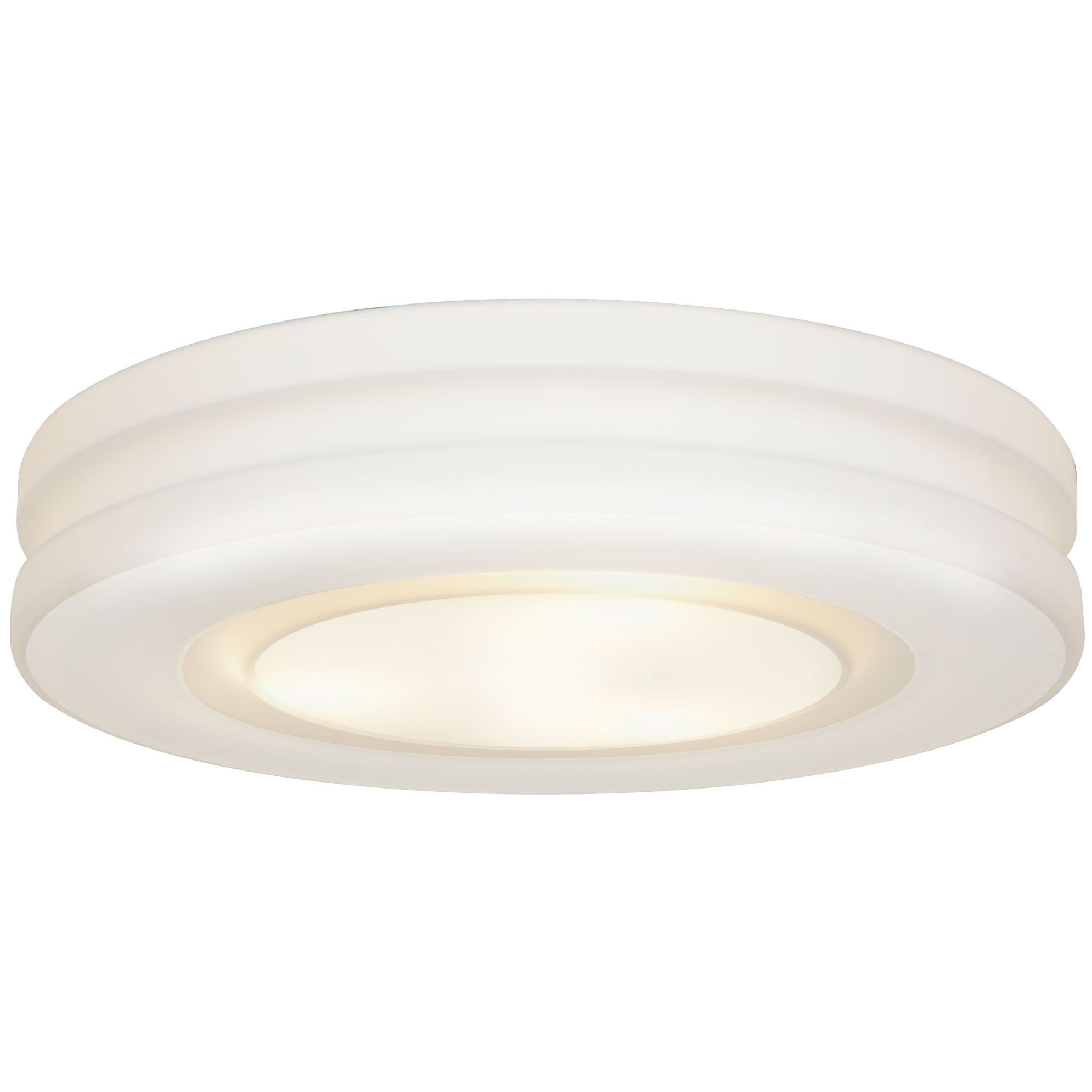 Altum Ceiling Flush Mount Features An Opal Glass Diffuser With A White Finish Two Lampin Access Lighting Flush Mount Lighting Flush Mount Ceiling Lights White