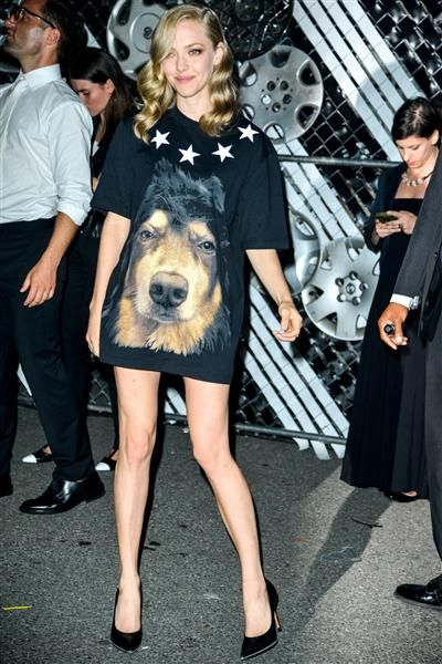 Amanda Seyfried attends the Givenchy show after party for Spring Summer 2016 at New York Fashion Week on Sept. 11, 2015.