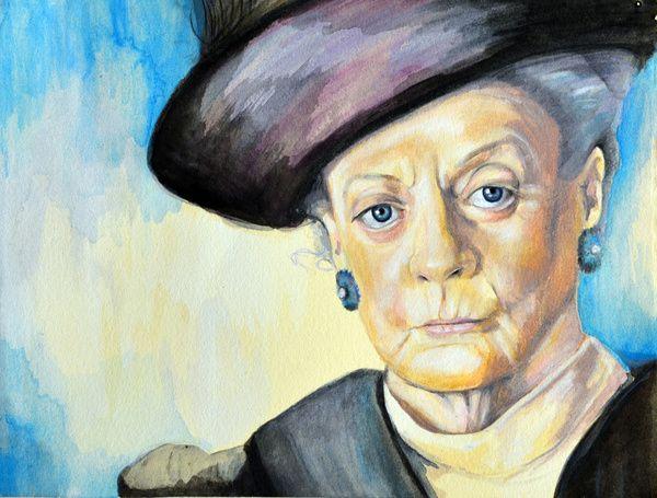 Dowager Countess of Grantham, Downton Abbey Art Print