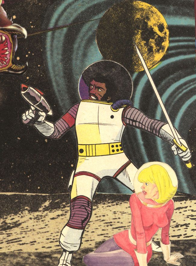 Afrodisiac in Space - Jim Rugg