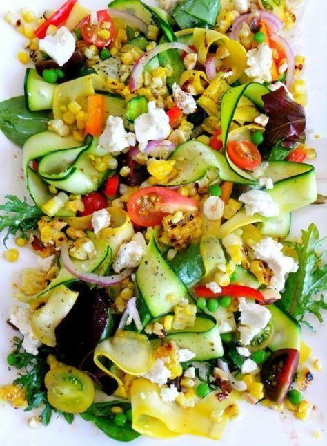 1001+ ideas de recetas de ensaladas de verano frescas ...