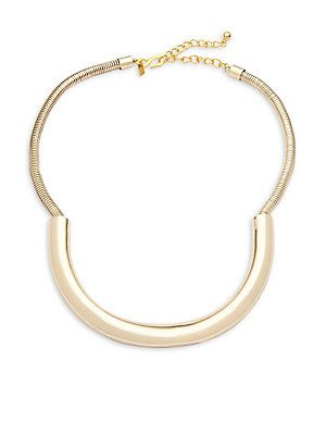 Kenneth Jay Lane Snake Collar Necklace Green legpMLvjF