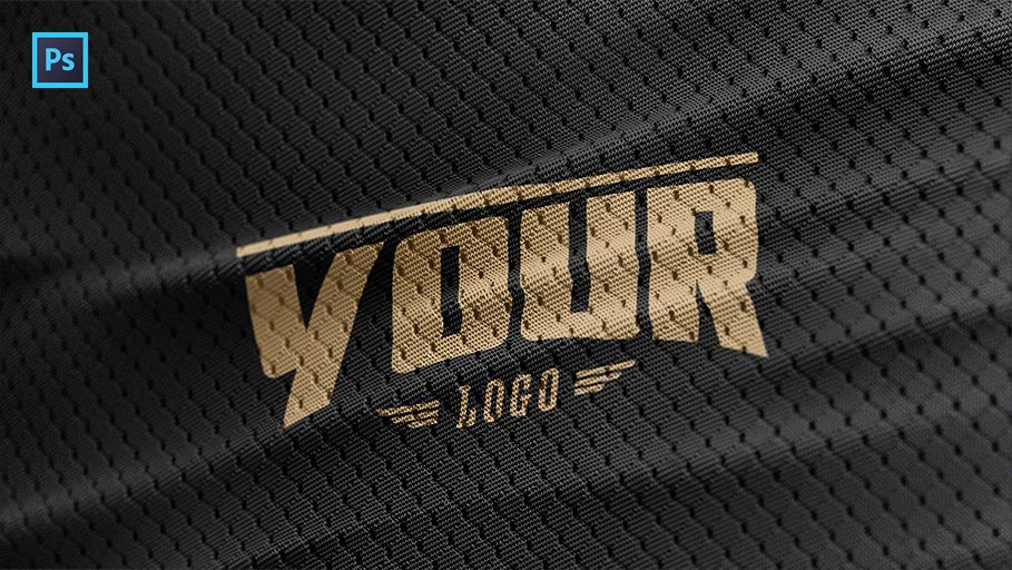 free sports jersey texture psd logo mockup free mock ups