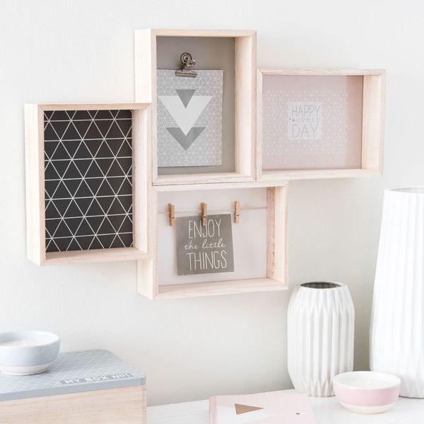 MICMAC GRAPHIC wooden photo memo ...   Dream home ideas - Playroom ...
