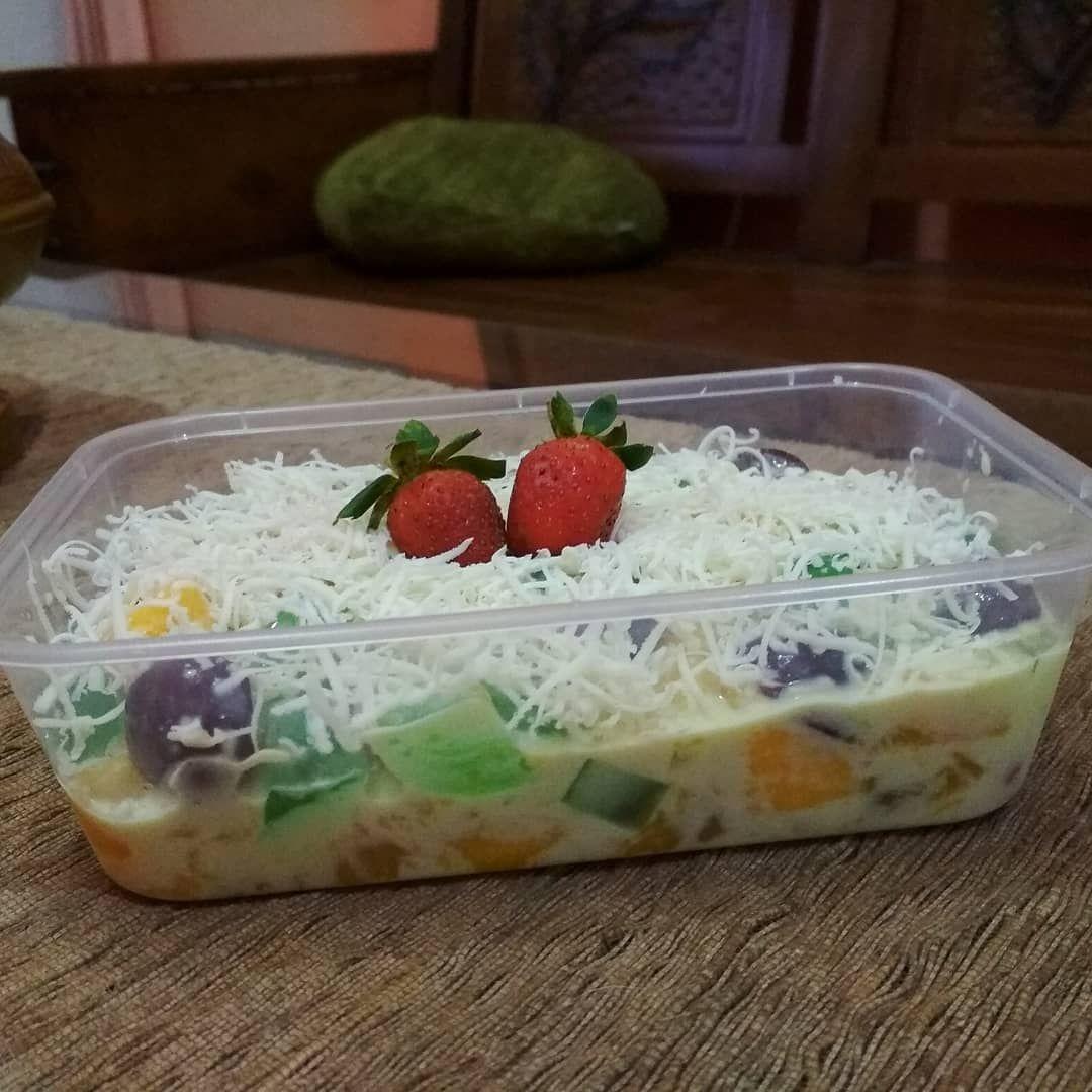 3 Cara Membuat Salad Buah Untuk Dijual Enak Dan Praktis Resep Resep Salad Salad Buah Resep Makanan Penutup