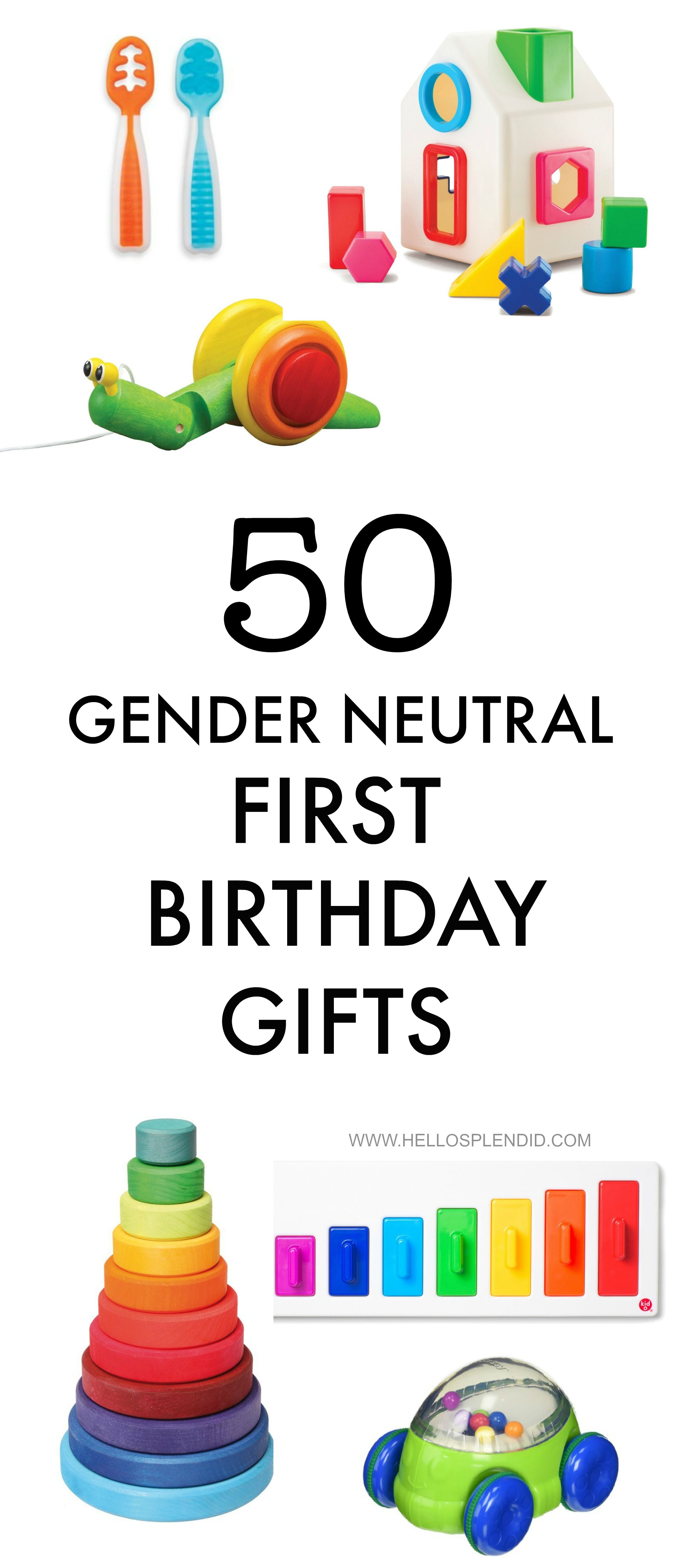 50 Awesome First Birthday Gifts For Boys Or Girls Most Are Battery Free Educational And Super Cute