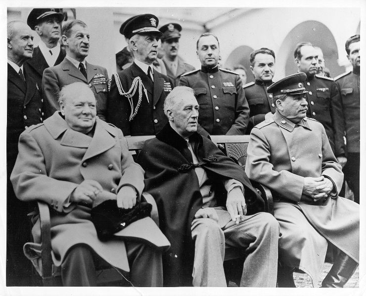 Yalta Conference February 1945 The Last Time The Big Three Of