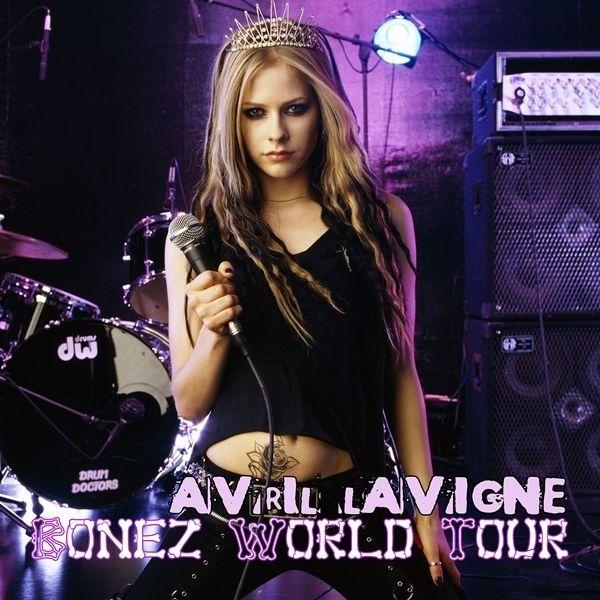 Avril Lavigne Fan Art Bonez World Tour Fanmade Album Cover Avril Lavigne Style Avril Lavigne Avril Levigne