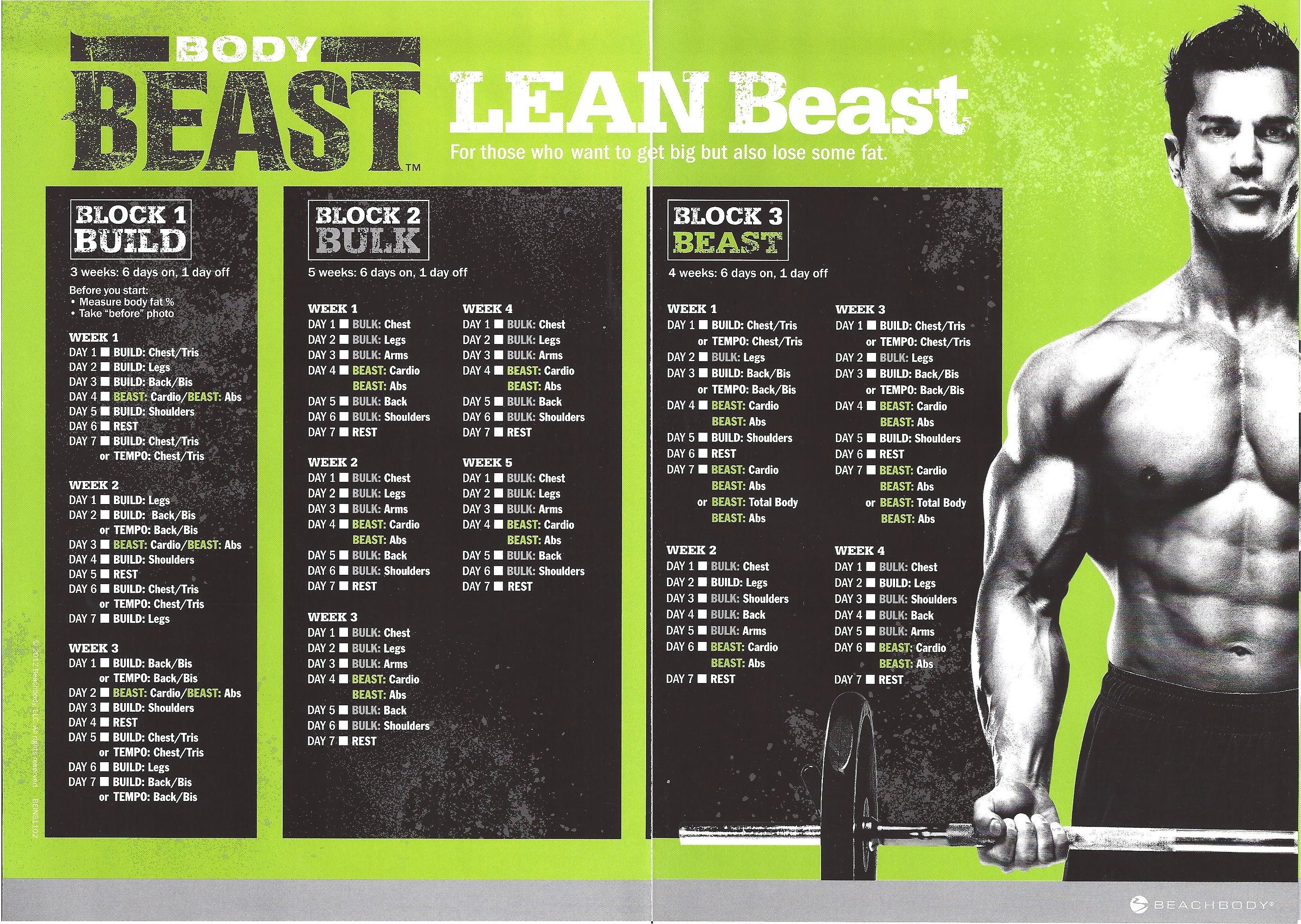 Body Beast Review For Women Week 4