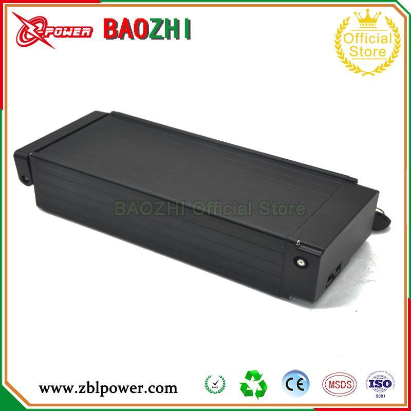 Eu Us No Tax 48v Li Ion Battery 48v 11 6ah E Scooter Battery With Black Case 48v Ebike Battery Use For Samsung Cell Free Char Black Case Li Ion Battery Battery