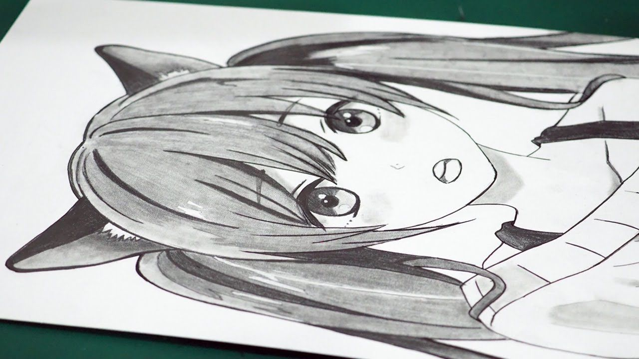 How to draw anime neko anime drawing tutorial for