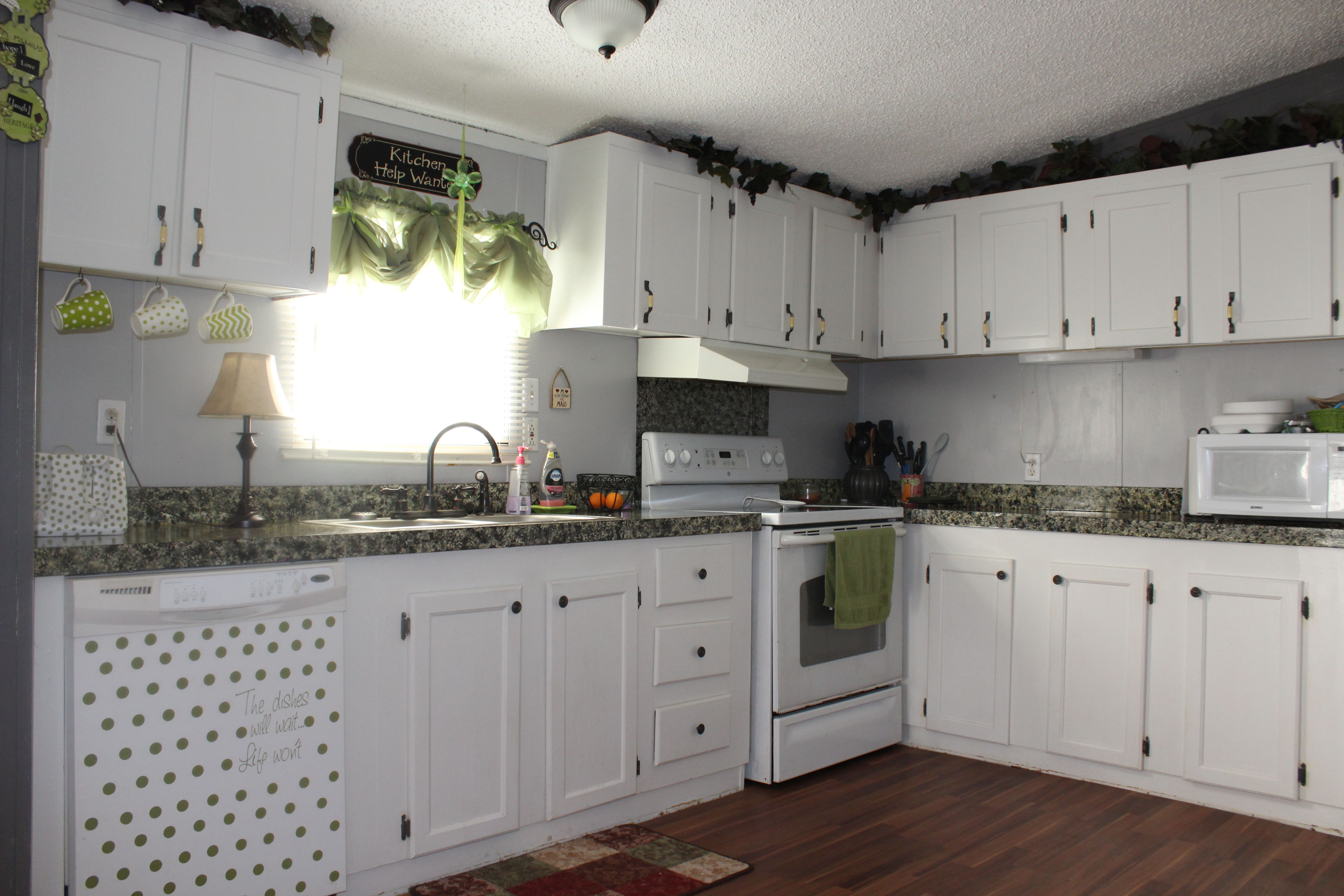 single wide mobile home kitchen update www.tralacelife ...