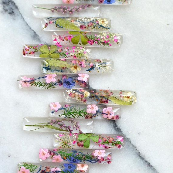 Gepresste Blume Terrarium Halskette, Natur-Anhänger, botanische gepresste Blume Harz Schmuck, natürlichen Schmuck