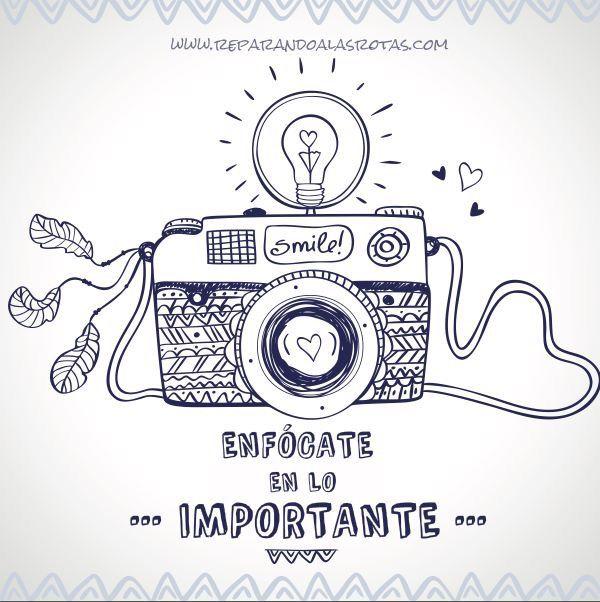 Enfocate En Lo Importante Dibujos Camaras Fotograficas Camara De Fotos Dibujo Arte Con Camara