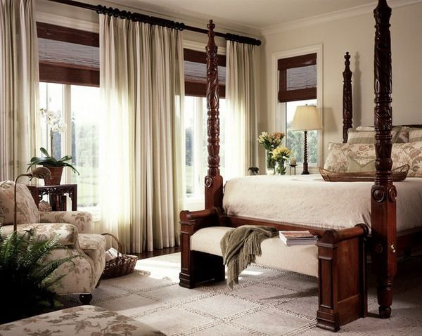 Master Bedroom Window Treatment Ideas Beautiful Neutral Rooms