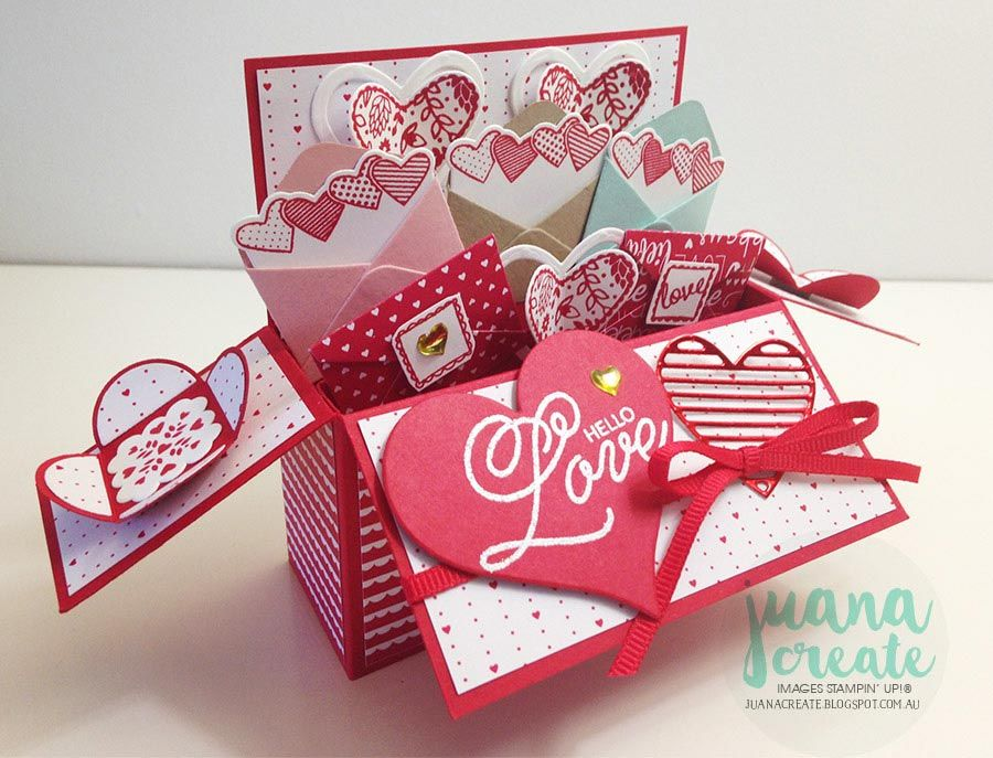 Sealed With Love Card In A Box Tutorial With Images Box Cards