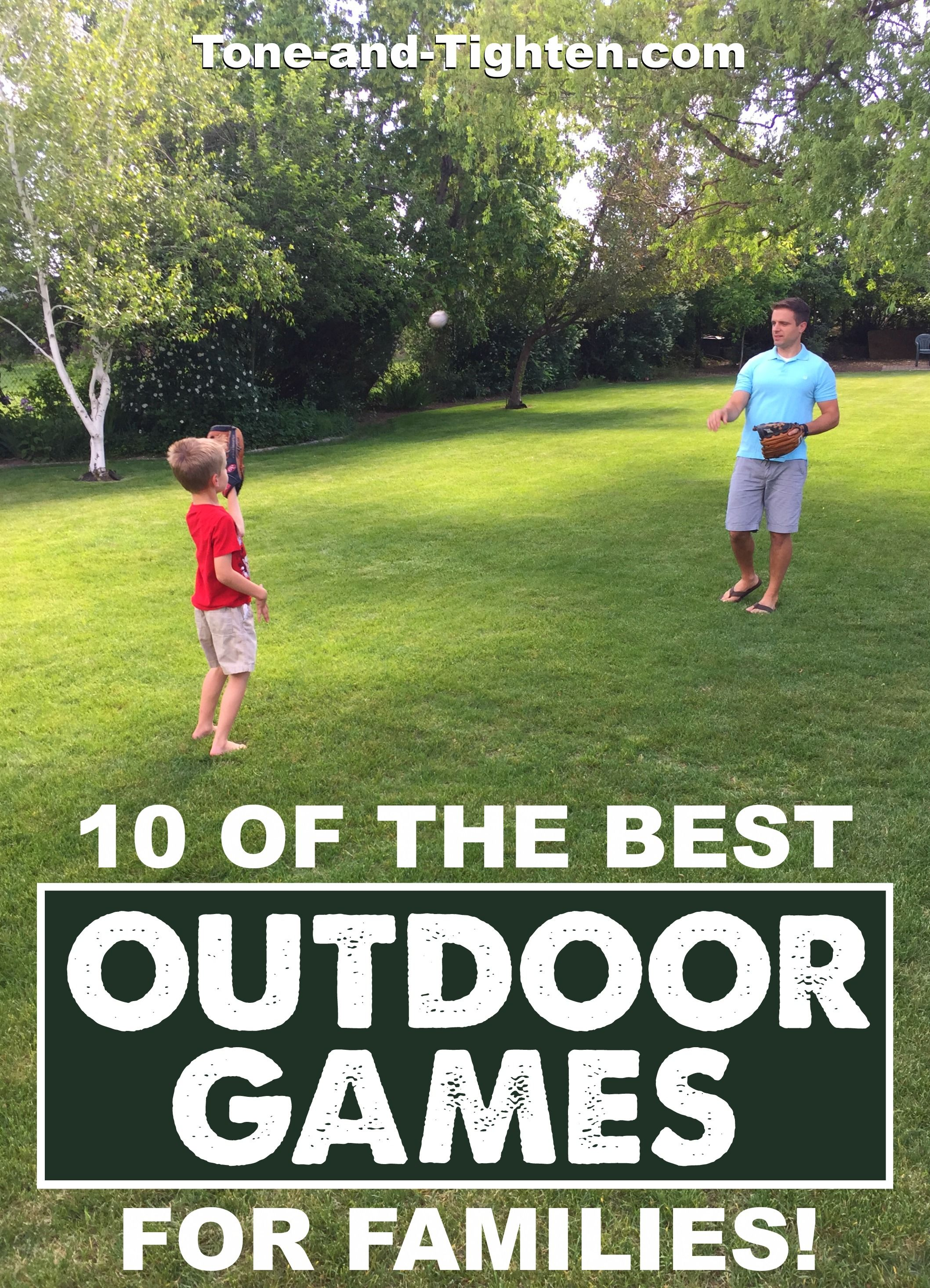 10 of the best outdoor games you can play with your kids family