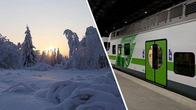 Useat junavuorot ovat pakkasen vuoksi ongelmissa.