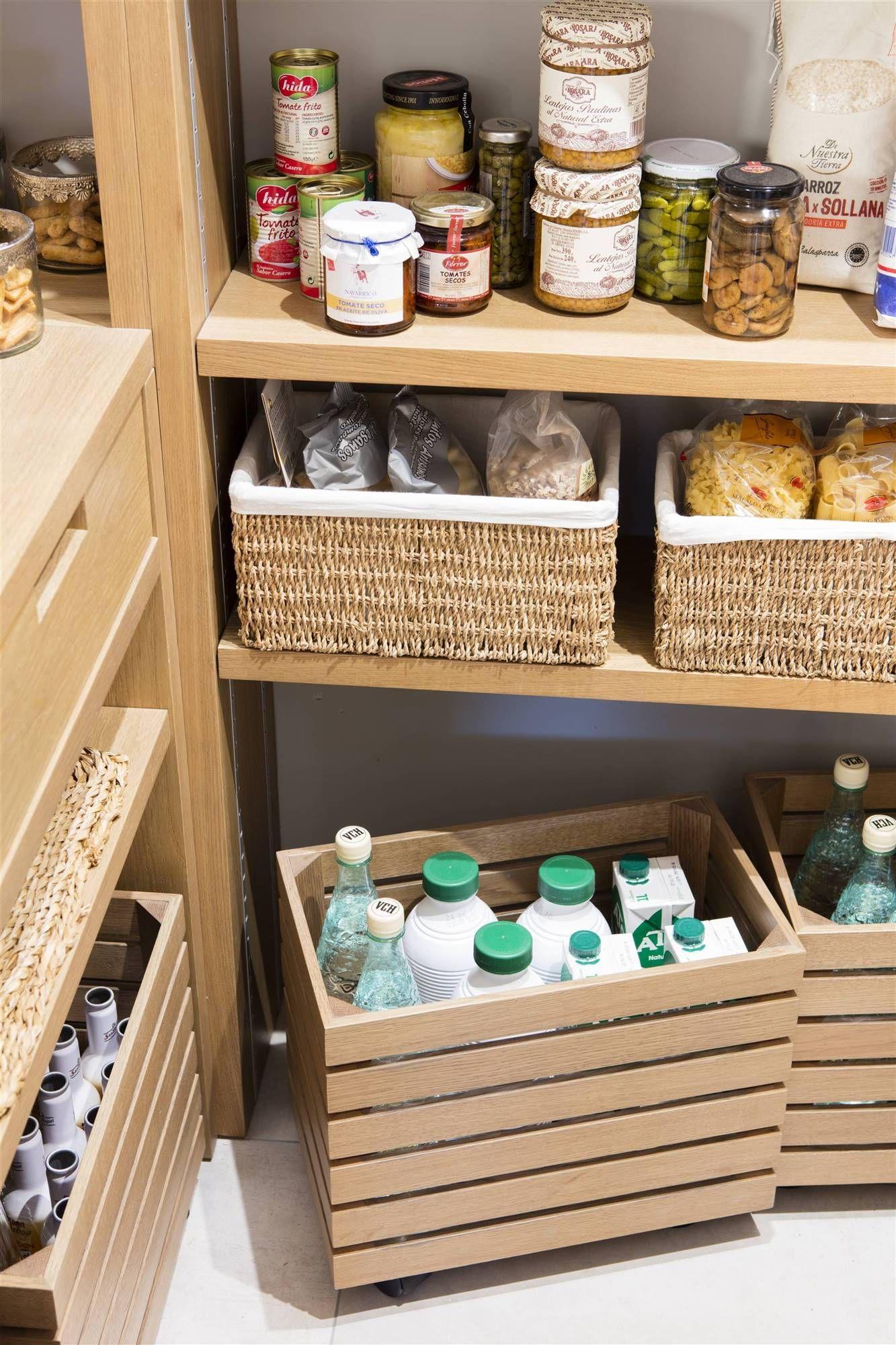Las mejores ideas de almacenaje en la cocina   Cocinas ...