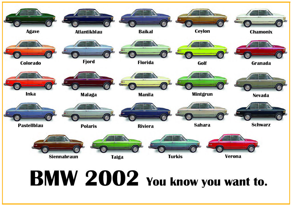 Bmw Original Colors Google Search BMW Love Pinterest