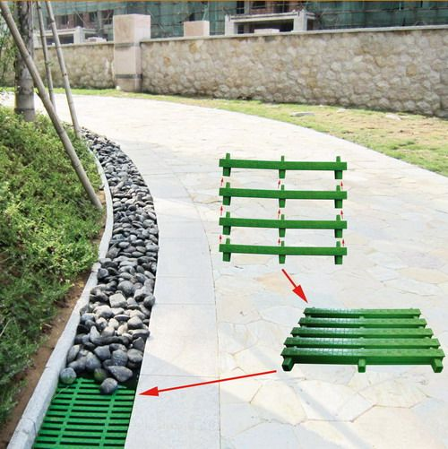 the pictures or vides of drain cover project03 lawn pinterest garten garten ideen and. Black Bedroom Furniture Sets. Home Design Ideas