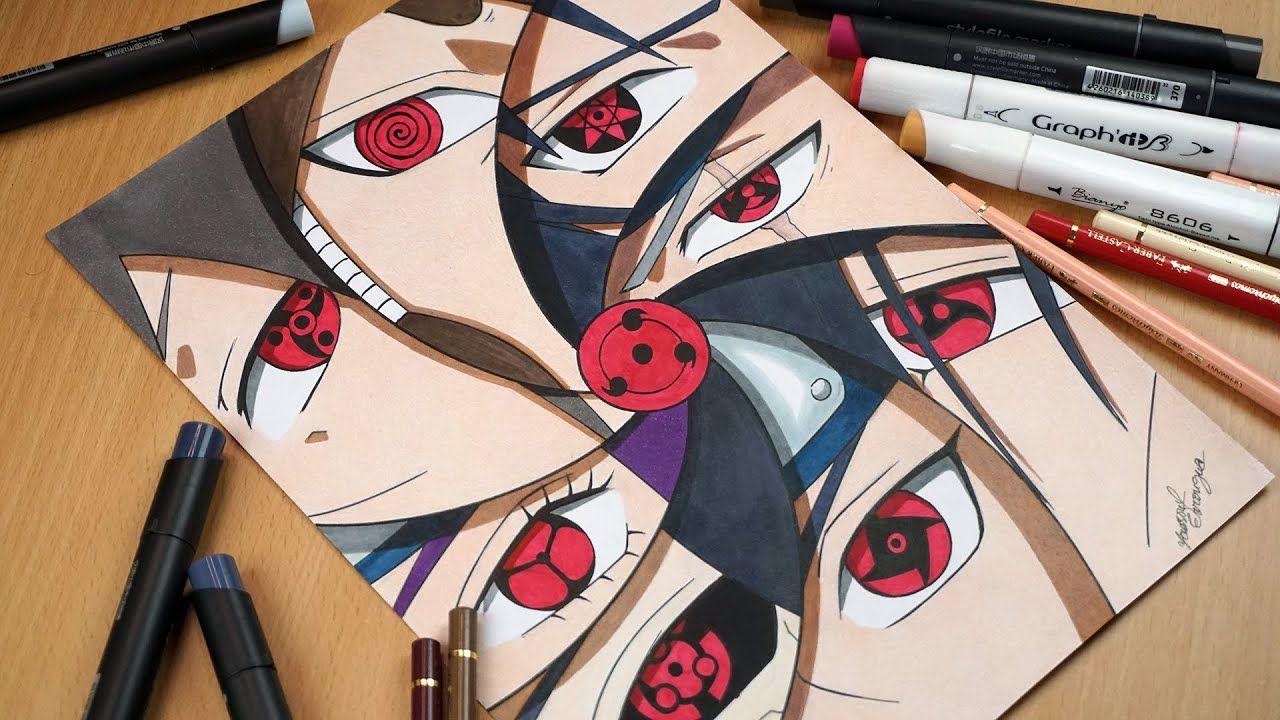 Drawing Mangekyou Sharingan Of Sasuke Kakashi Itachi Shisui Madara Mangekyou Sharingan Sasuke Drawing Naruto Drawings
