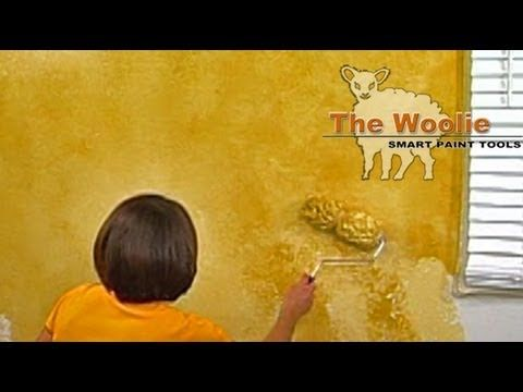 ▷ 2-Color Roller Faux Finish Painting by The Woolie - YouTube Jess ...