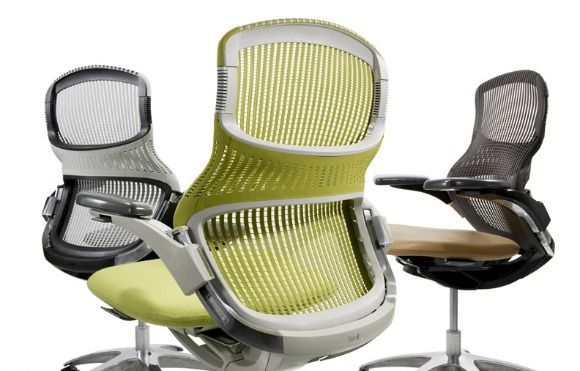 Knoll Generation Chair 830 Ergonomic Chair Midcentury Modern Dining Chairs Office Guest Chairs