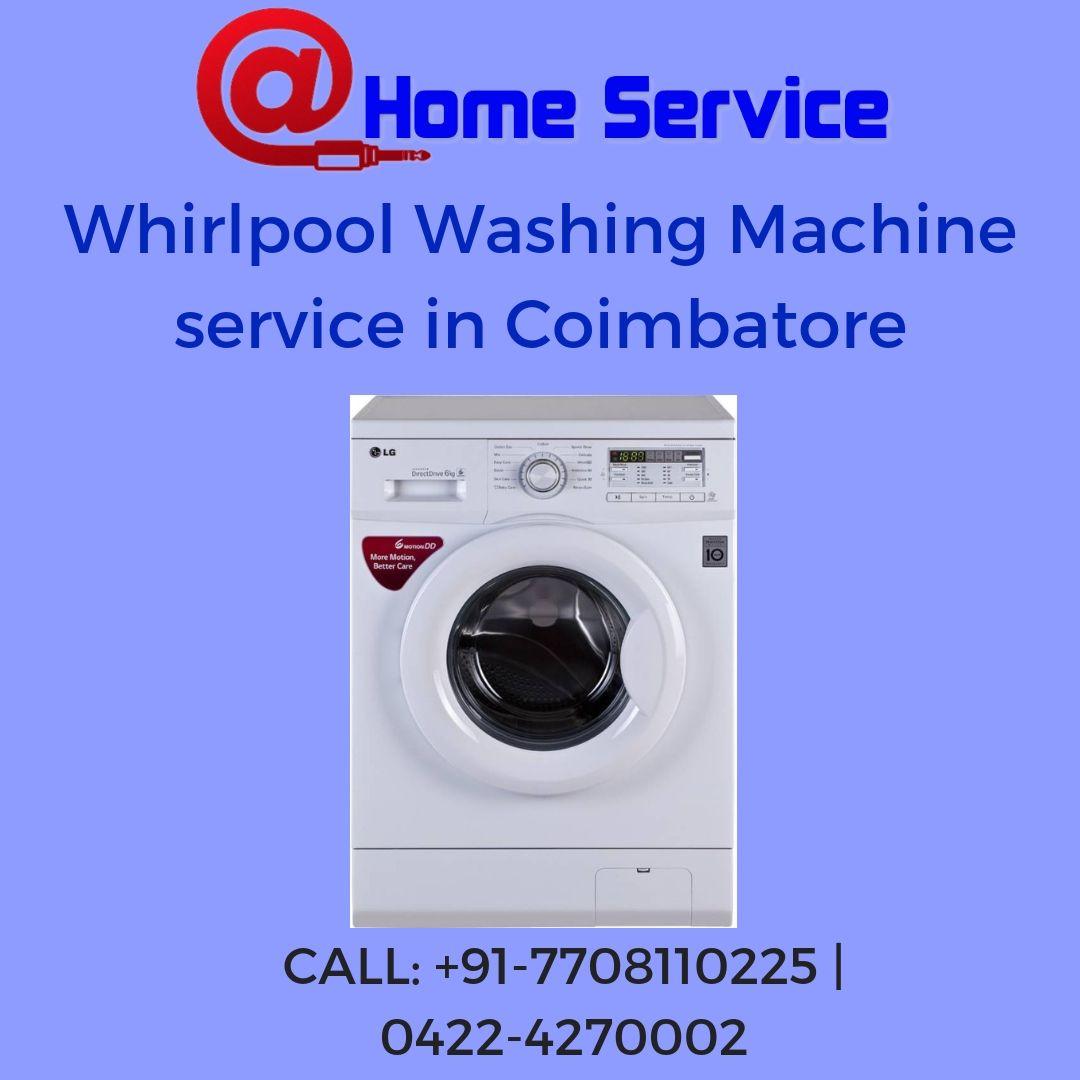 Whirlpool washing machine repair and service in coimbatore