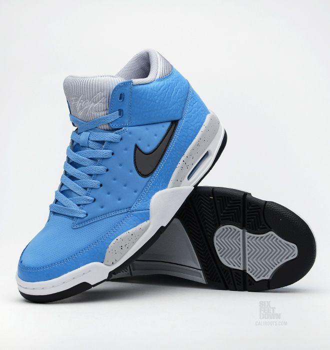 1dad75d2a31c nike air flight classic university blue black grey 05 Nike Air Flight  Classic University Blue Black Wolf Grey