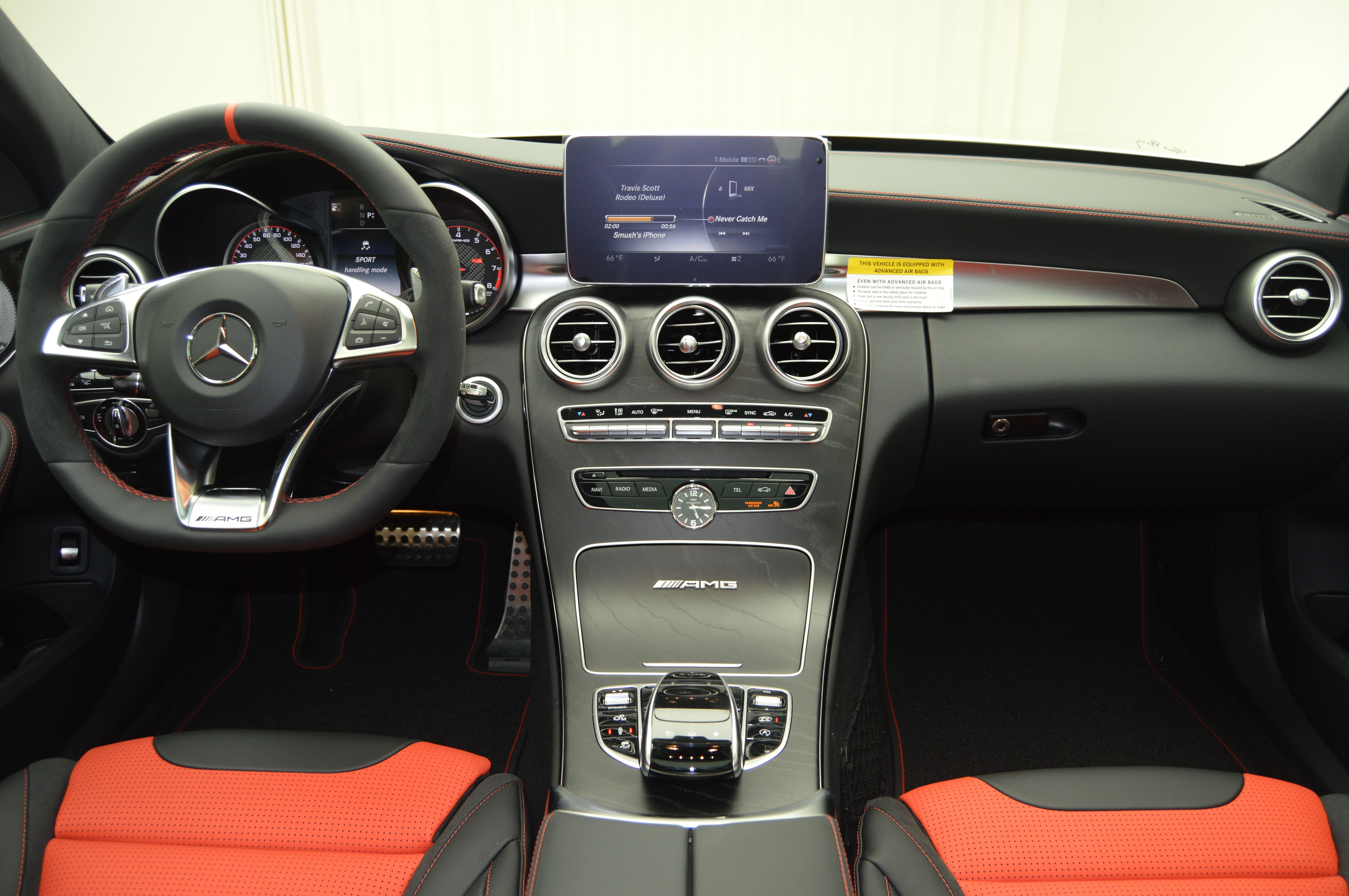 C63s Redpepper Interior Mercedesbenz With Images Amg C63