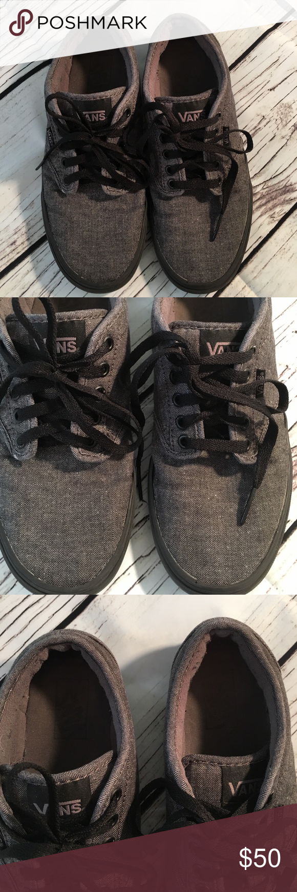 e83869fdd6 No signs of wear except inside shoe. You can still read the labels. No wear  on heels or soles that I can see. Size 8.5 US. Euro 39 Vans Shoes Athletic  Shoes