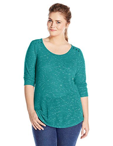 TOPSELLER! Derek Heart Juniors Plus-Size 3/4 Sle... $27.00